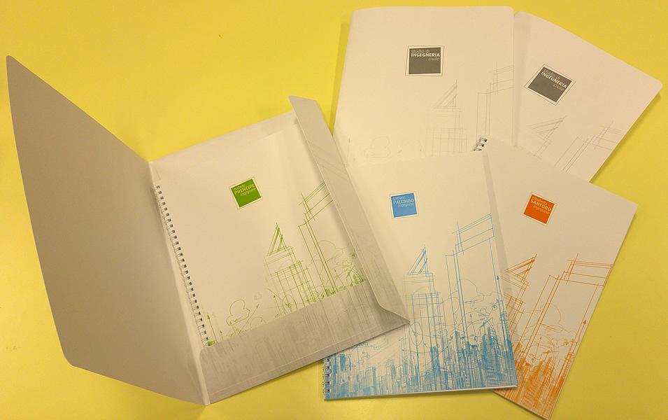 Cartellina porta documenti per Studio di Ingegneria